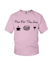 Plan for the day reading Youth T-Shirt thumbnail