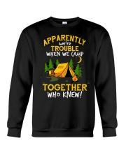 camping torgether Crewneck Sweatshirt thumbnail
