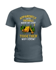 camping torgether Ladies T-Shirt thumbnail