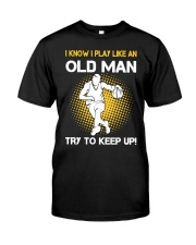 old man basketball Classic T-Shirt thumbnail