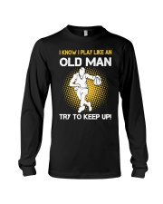 old man basketball Long Sleeve Tee thumbnail