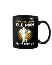 old man basketball Mug thumbnail
