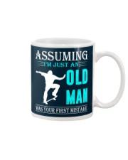 Skateboarding old man Mug thumbnail