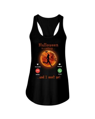 running is calling halloween