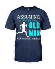 jogging old man Classic T-Shirt thumbnail