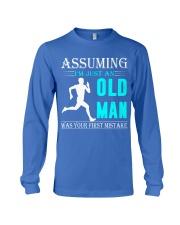 jogging old man Long Sleeve Tee thumbnail