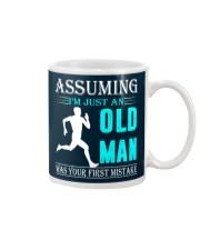 jogging old man Mug thumbnail