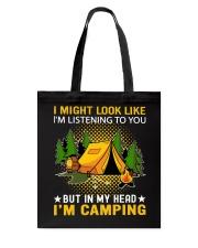 camping in my head Tote Bag thumbnail