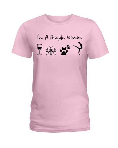 gymnastics i am a simple woman