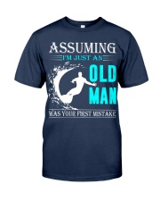 Surfing old man Classic T-Shirt thumbnail