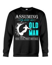 Surfing old man Crewneck Sweatshirt thumbnail