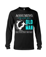 Surfing old man Long Sleeve Tee thumbnail