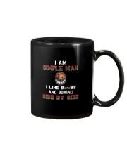 Man and boxing Mug thumbnail