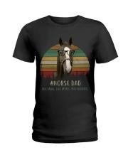 horse mom 2 Ladies T-Shirt thumbnail