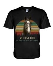 horse mom 2 V-Neck T-Shirt thumbnail