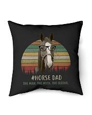 "horse mom 2 Indoor Pillow - 16"" x 16"" thumbnail"