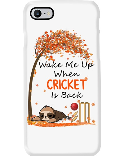 wake me up when cricket is back