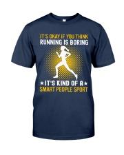 running smart sport lady Classic T-Shirt thumbnail