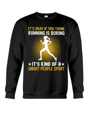 running smart sport lady Crewneck Sweatshirt thumbnail