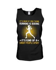 running smart sport lady Unisex Tank thumbnail