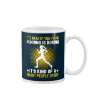 running smart sport lady Mug thumbnail