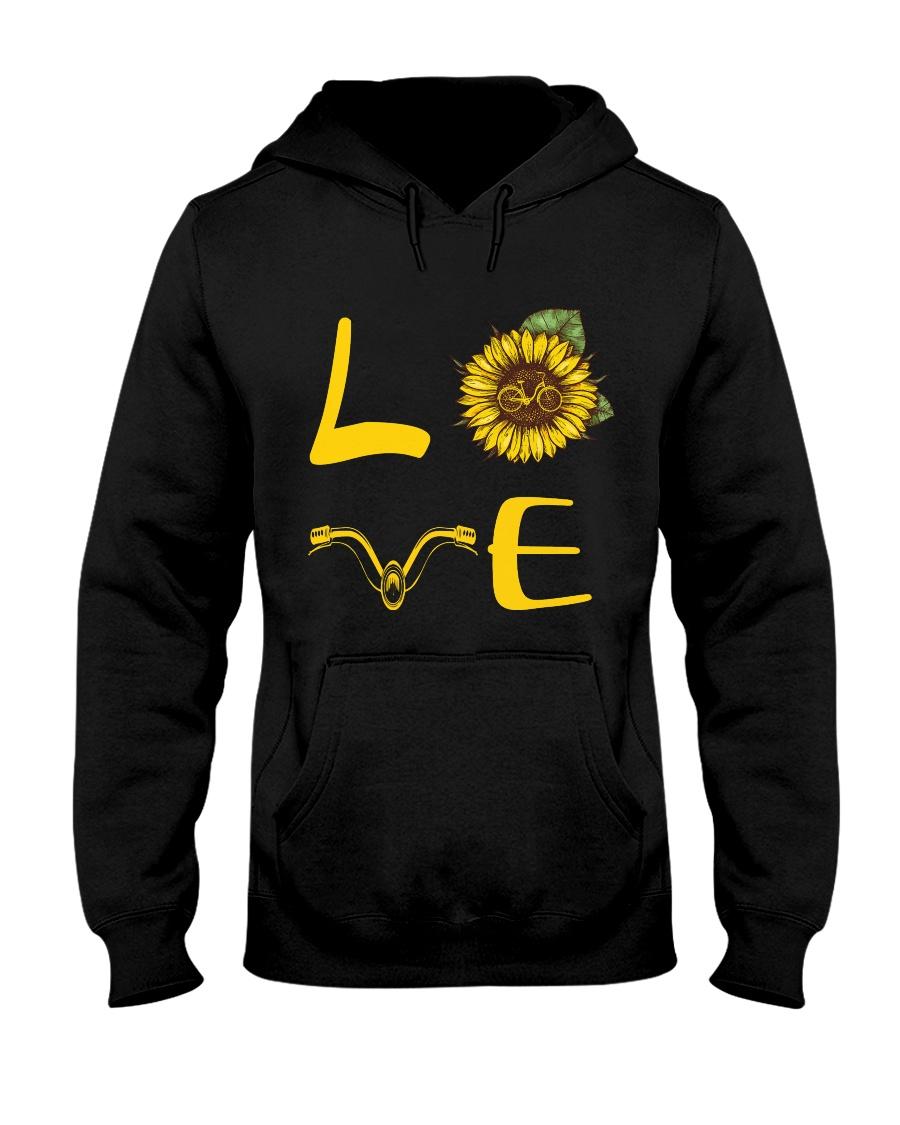 Love bike Hooded Sweatshirt