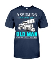 micro sprint car old man n002 Classic T-Shirt thumbnail