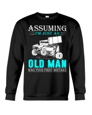 micro sprint car old man n002 Crewneck Sweatshirt thumbnail