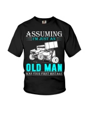 micro sprint car old man n002 Youth T-Shirt thumbnail