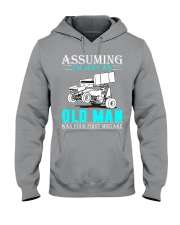 micro sprint car old man n002 Hooded Sweatshirt front
