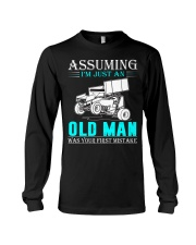 micro sprint car old man n002 Long Sleeve Tee thumbnail