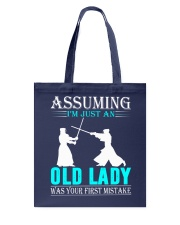 kendo old lady Tote Bag thumbnail