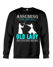 kendo old lady Crewneck Sweatshirt thumbnail