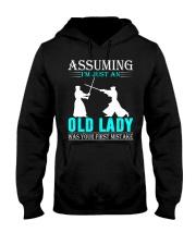 kendo old lady Hooded Sweatshirt front