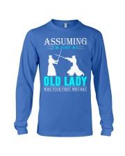 kendo old lady Long Sleeve Tee thumbnail
