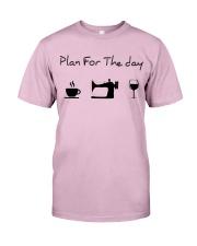 Plan fot the day sewing Classic T-Shirt thumbnail