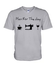 Plan fot the day sewing V-Neck T-Shirt thumbnail