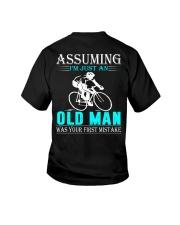 cycling old man Youth T-Shirt thumbnail