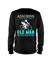 cycling old man Long Sleeve Tee thumbnail