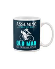 cycling old man Mug thumbnail