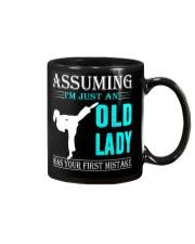 karate old lady Mug thumbnail