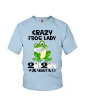 frog lady Youth T-Shirt thumbnail