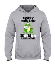 frog lady Hooded Sweatshirt thumbnail
