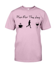 Plan for the day running Classic T-Shirt thumbnail