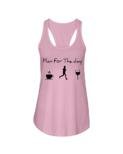 Plan for the day running Ladies Flowy Tank thumbnail