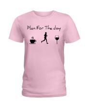 Plan for the day running Ladies T-Shirt thumbnail