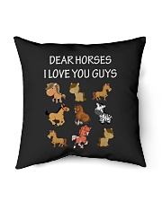 i love you guys-horse Indoor Pillow tile