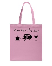 Plan for the day camping Tote Bag thumbnail