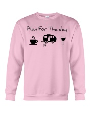 Plan for the day camping Crewneck Sweatshirt thumbnail