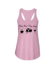 Plan for the day camping Ladies Flowy Tank thumbnail